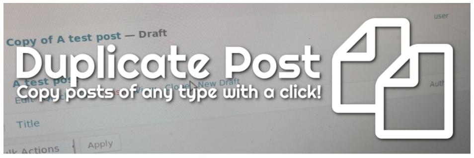 صورة من إضافة Duplicate Post