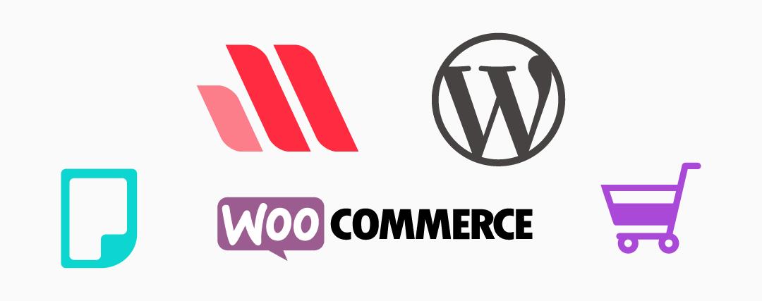 صورة تعبر عن التكامل الرائع بين قالب مهارتي ومتاجر woocommerce