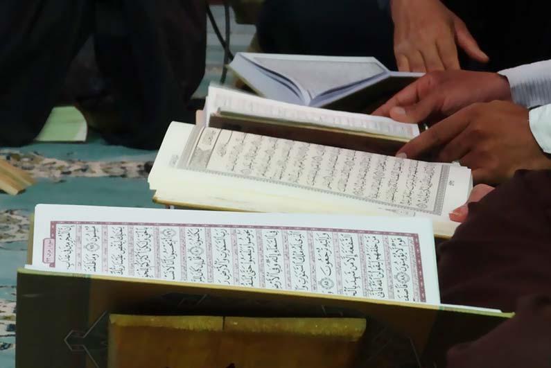 المؤسسة تشارك في حملة مصحف لكل مسلم