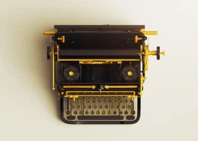 آلة كاتبة